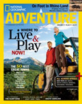 National Geographic Adventure September 2008 cover