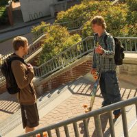 Conversation on Lamson steps.