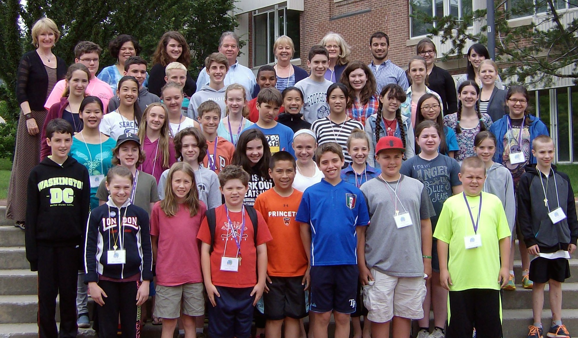 Junior Piano Camp Group Photo 2015