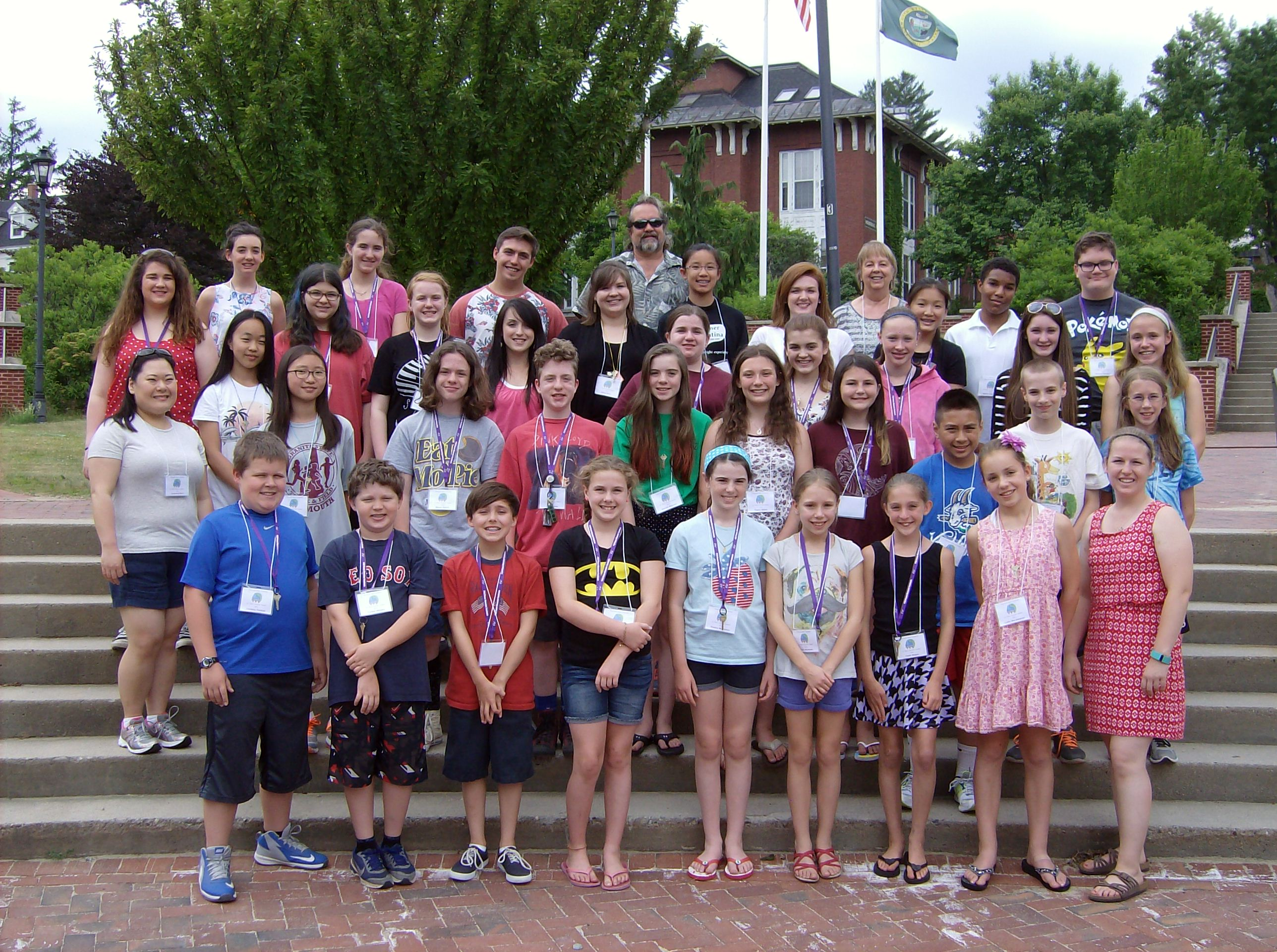 JR Piano camp group photo 2016