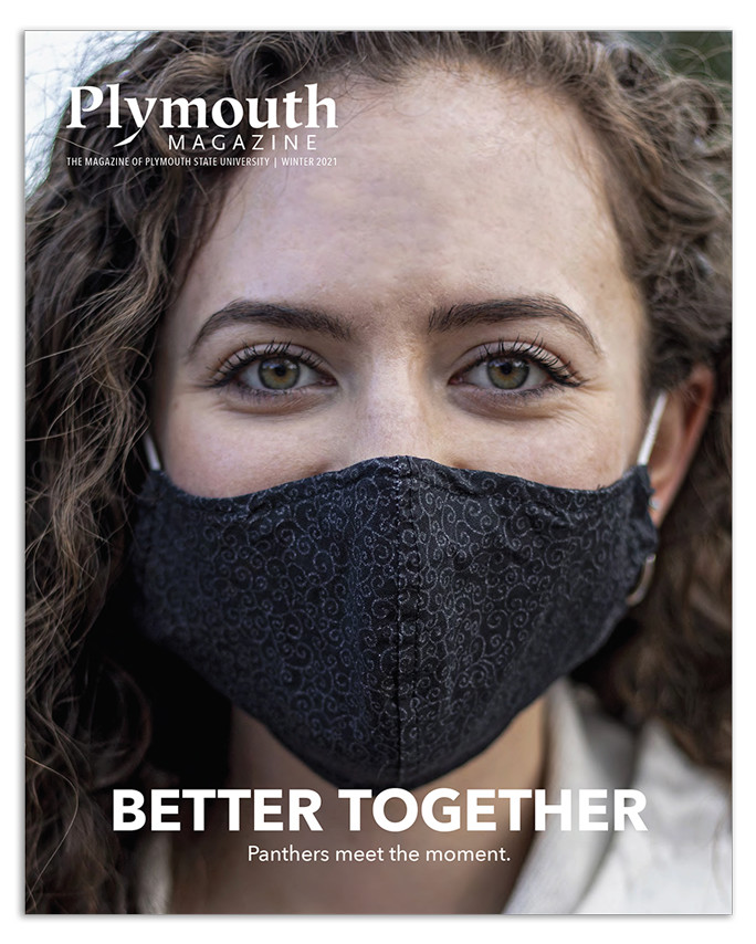 Plymouth Magazine Winter 2021 Cover