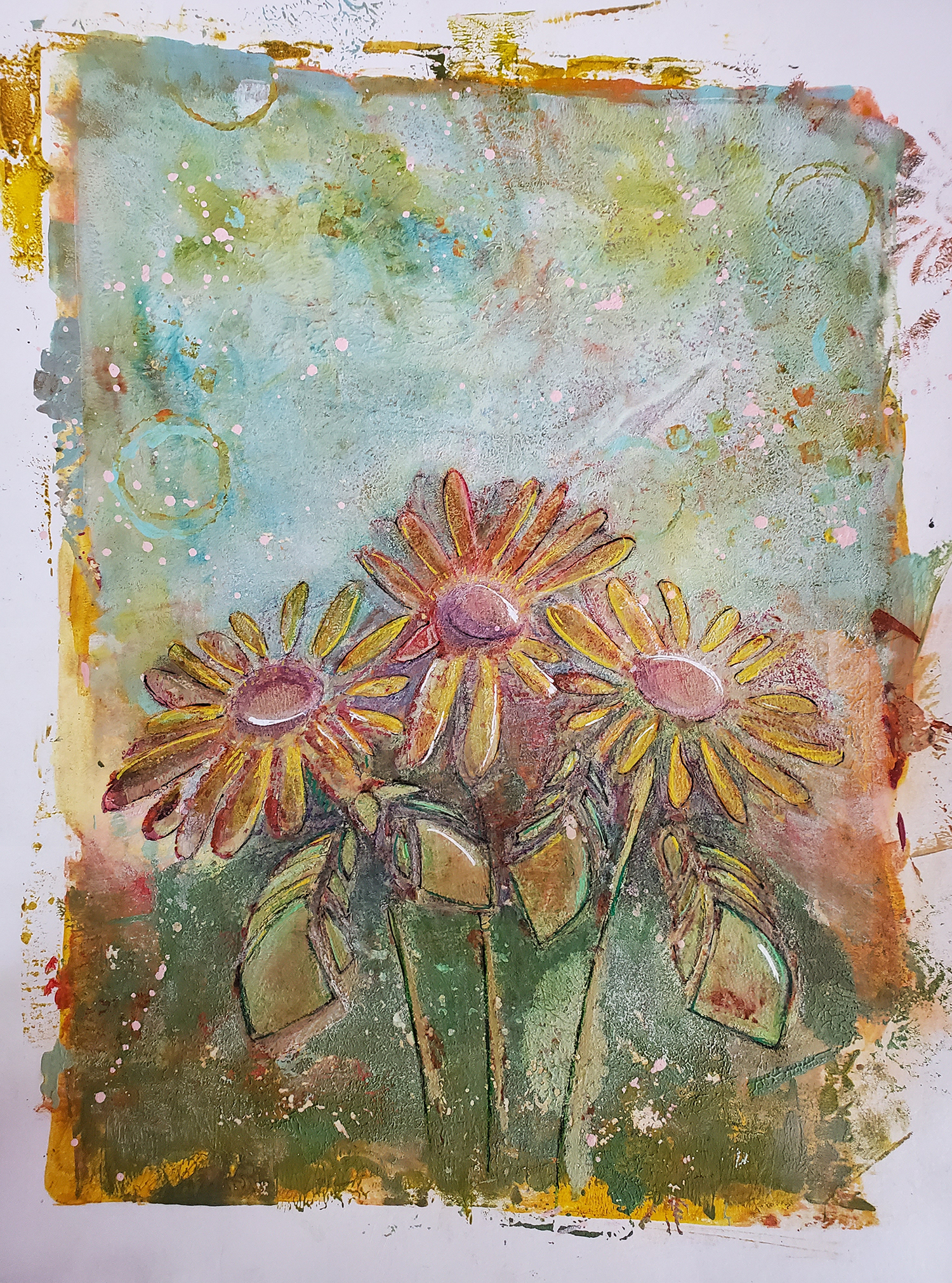 """Trio of Daisies"" Betsy"