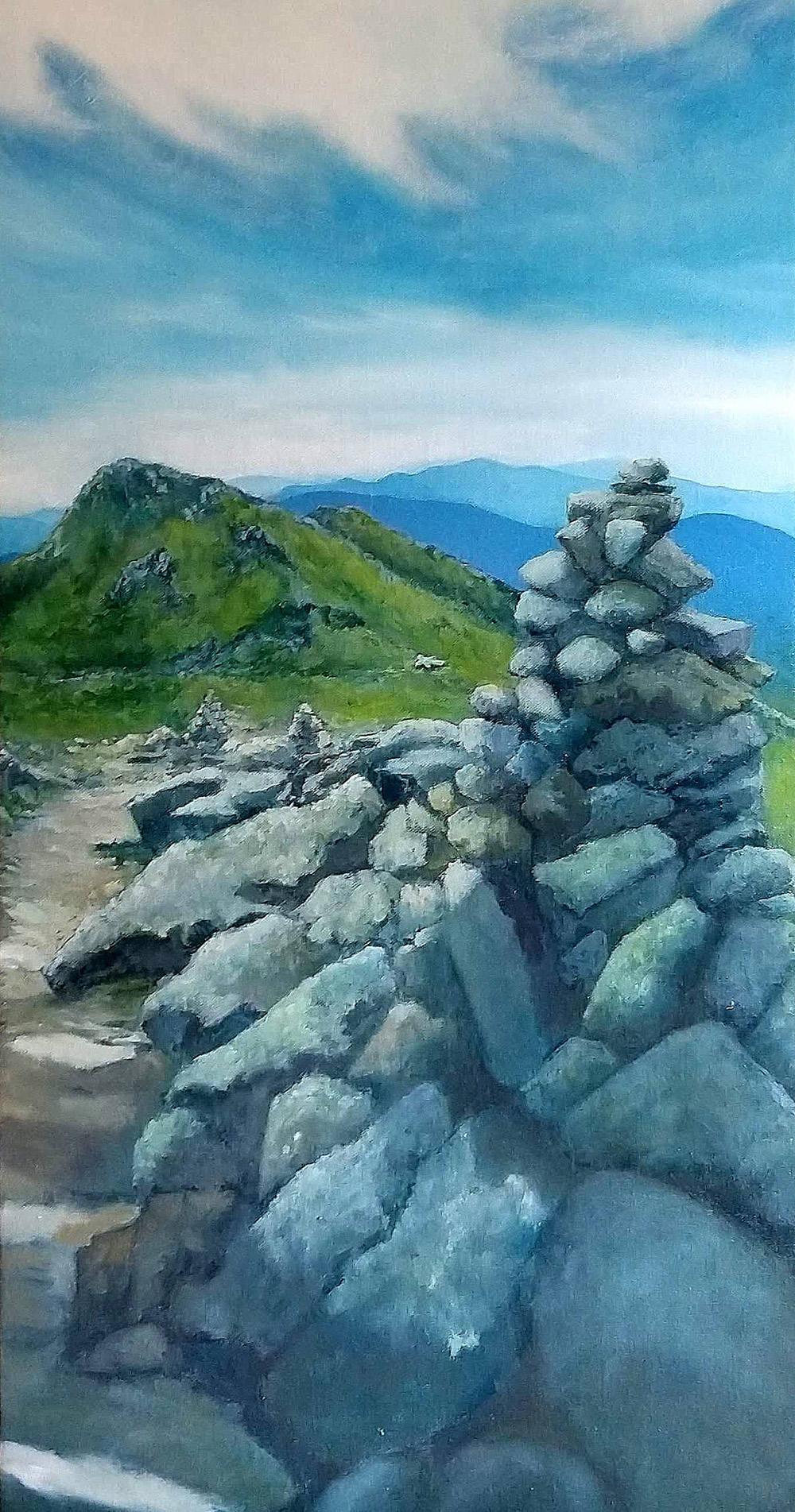 """Crawford Path to Lake of the Clouds"" Rebecca"
