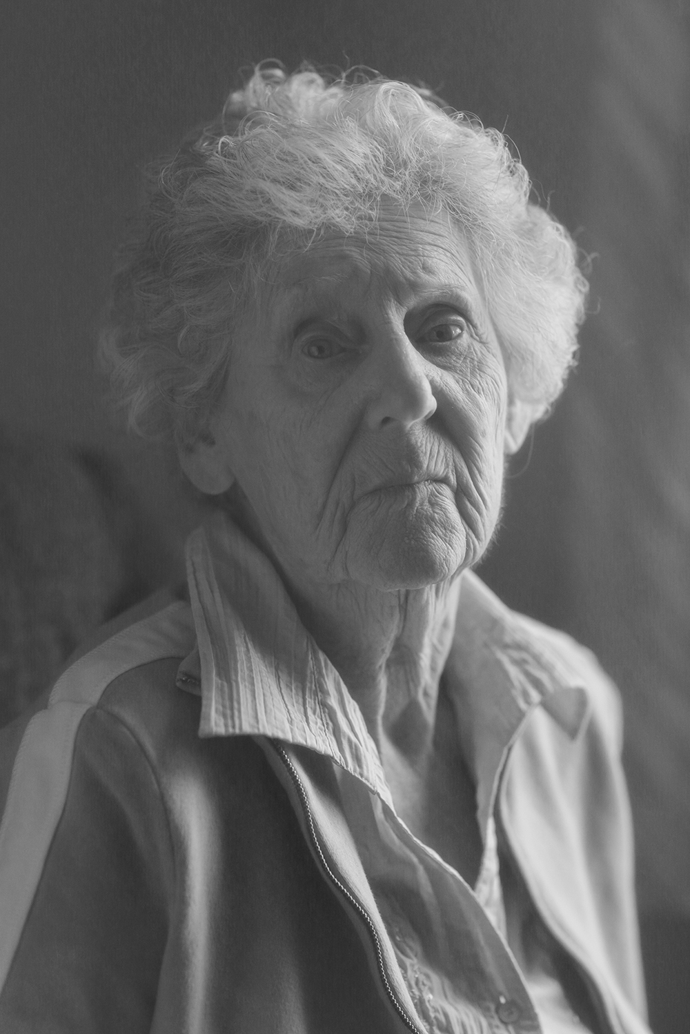 """Portrait of Georgiana"" Belknap County Nursing Home, 2015, Maundy"