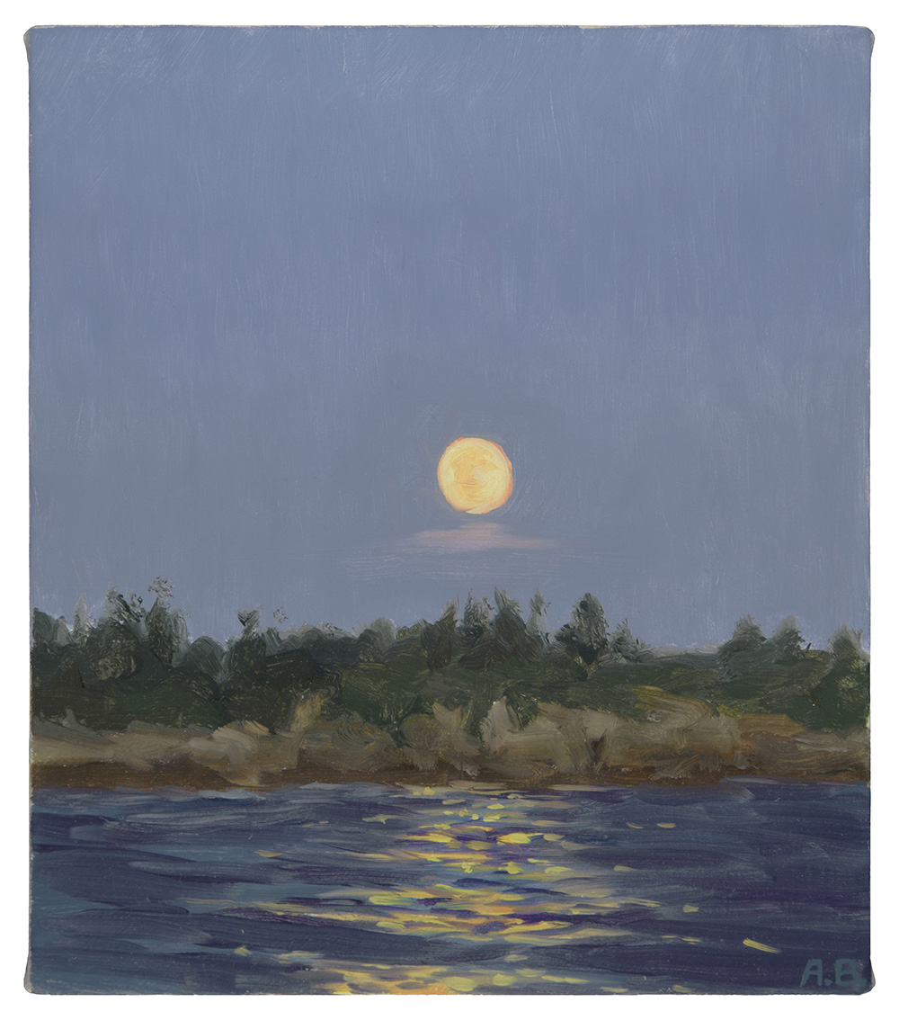 """Strawberry Moon, Schoodic"" Ard"
