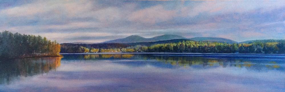 """""""Breck Shore, Lake Winnisquam, NH"""" BJ"""