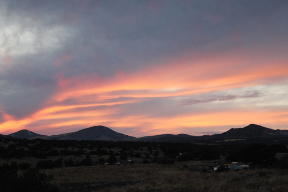 Crimson Sky, Del Norte, Colorado