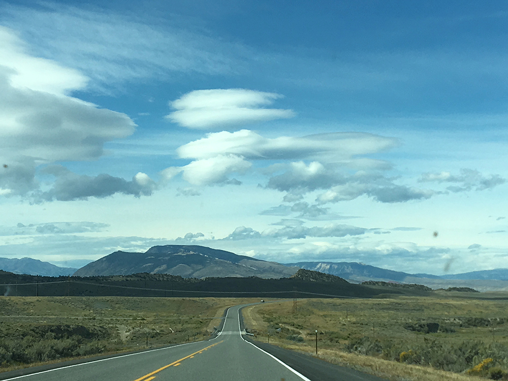 On The Road, Highway 287, Wyoming