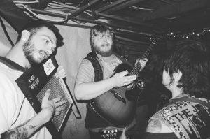 Musicians, candid photo