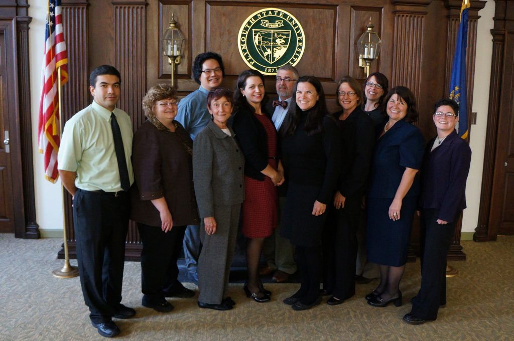 Members of one of the graduating EdD cohorts