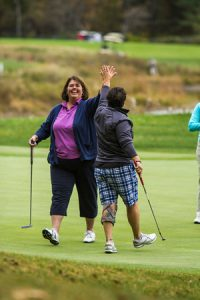 Tee off with other alumni at the PSU Alumni Association 35th Barbara Dearborn '60 Golf Classic.