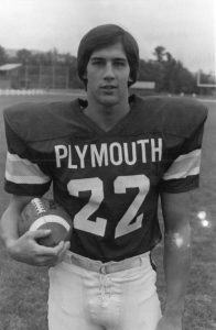 GLORY DAYS: Joe Dudek's prowess on the field earned him and Plymouth State national attention in the early 1980s.