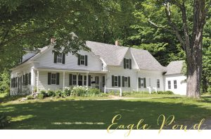 Eagle Pond Farm in Wilmot, NH, Hall's ancestral home where he spent summers as a child