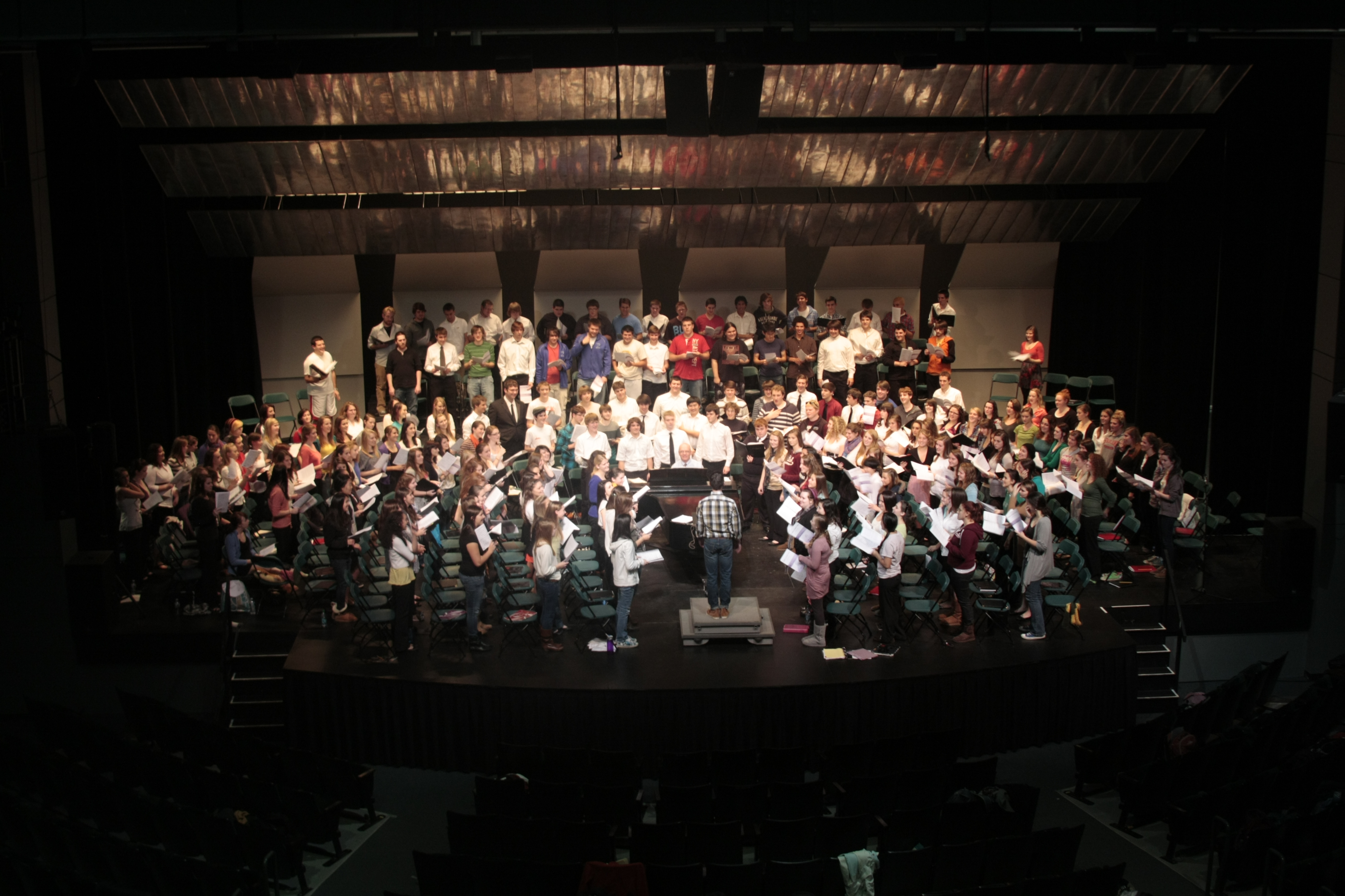 All New England Choral Festival Concert Silver Center