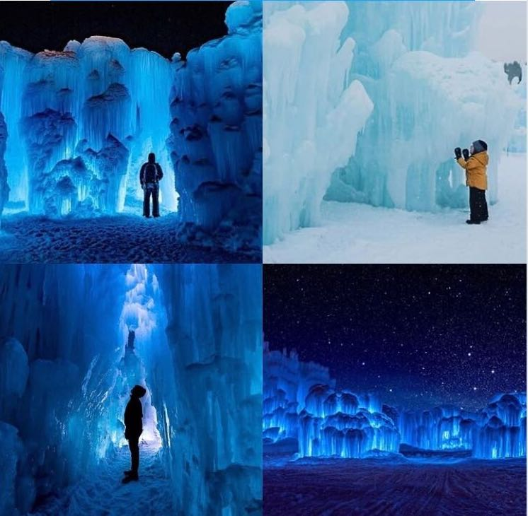 Make A Trip Up To The Ice Castles Today!